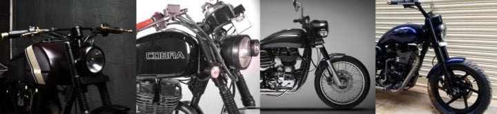 best modified royal enfield motorcycles india