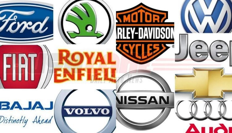 List of Auto manufacturers NOT attending the 2018 Auto Expo
