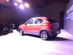 ford freestyle images rear angle brown