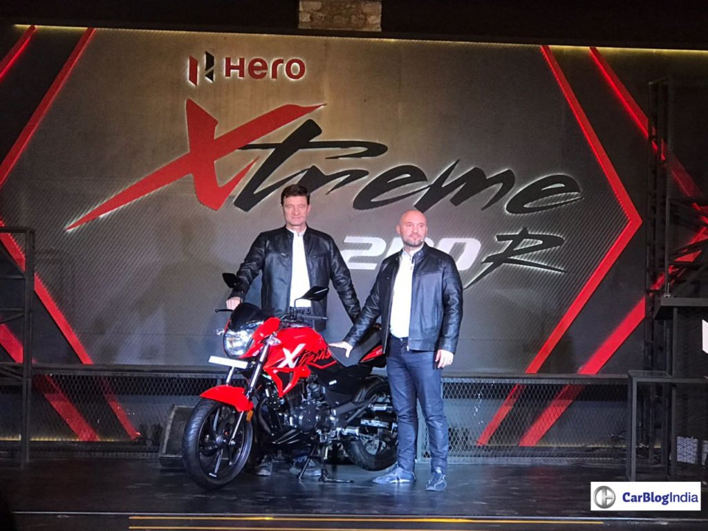 Hero Xtreme 200R Unveiled, Launch Date, Price, Specs, Features, Colours