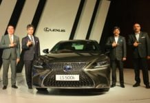 lexus ls 500h india images