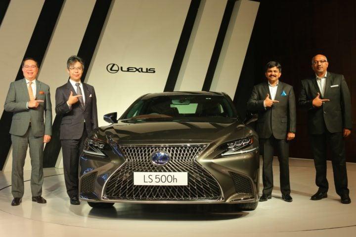 lexus ls 500h india images