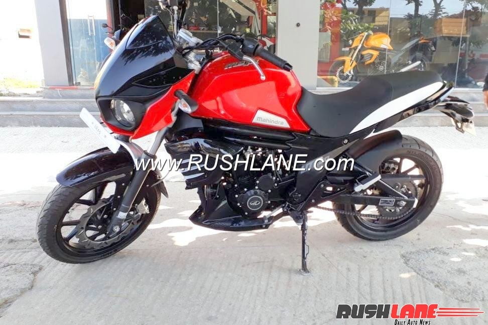 Mahindra Mojo Ut300 Low Cost Variant Spied Launch Soon