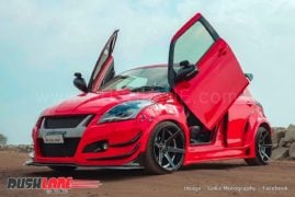 modified maruti swift images