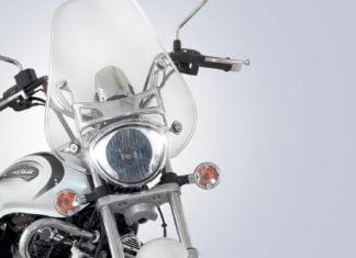 new 2018 bajaj avenger image front headlight