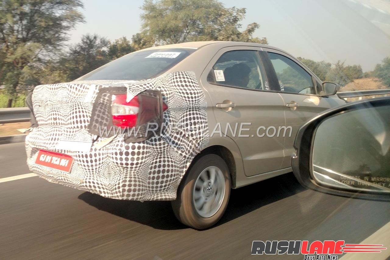 ford aspire facelift spied  launch