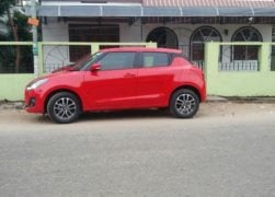 new maruti swift 2018 red colour images