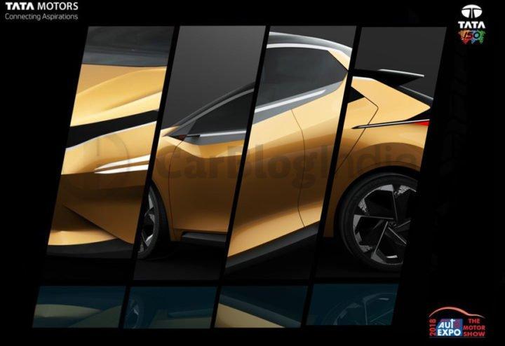 tata x451 hatchback baleno rival auto expo 2018 teaser