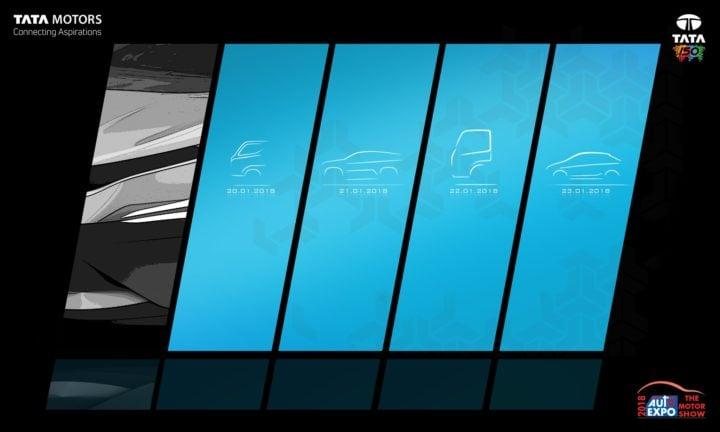 tata x451 hatchback teaser image