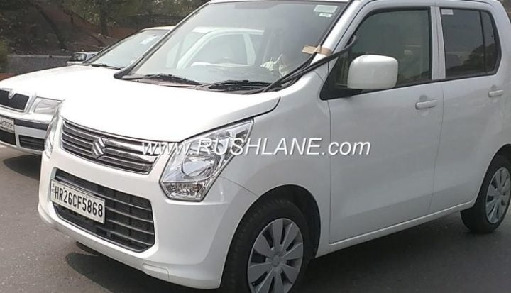 New 2018 Maruti Suzuki WagonR Spied Completely Undisguised, Could Get A Diesel Variant