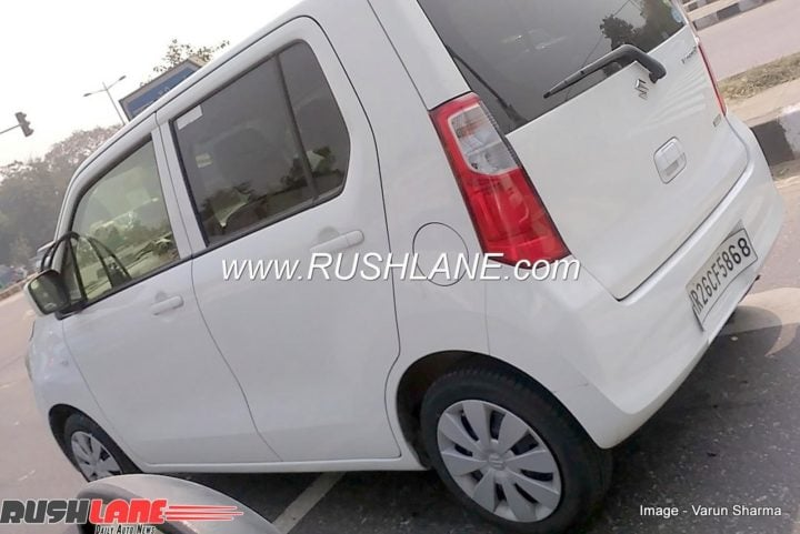 2018 Maruti Suzuki Wagon R side profile