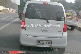 2018 Maruti Suzuki Wagon R rear profile