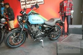 2018 Royal Enfield Thunderbird 500x side profile