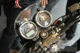 2018 Royal Enfield Thunderbird 500x Instrument Cluster profile