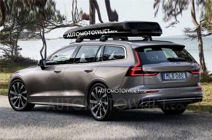 2018 Volvo V60 side profile