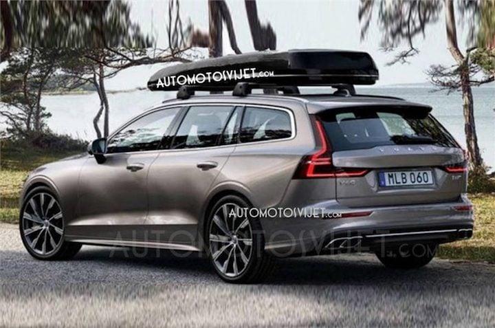2018 Volvo V60 side profile