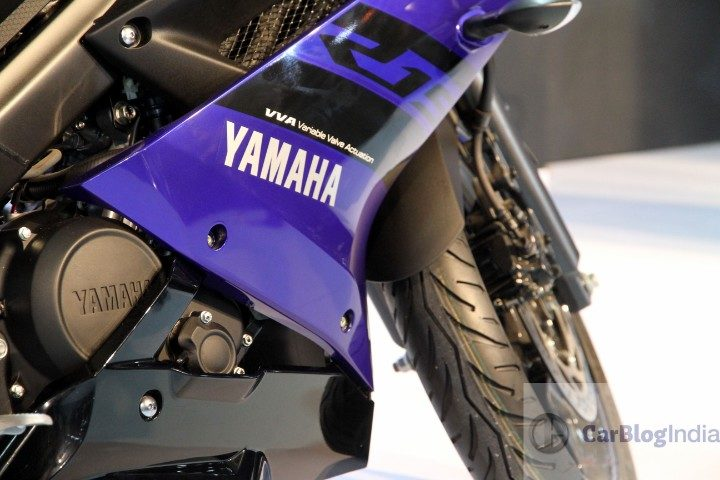 2018 yamaha r15 v3.0 images blue colour