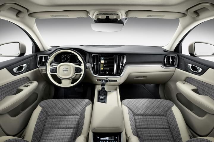 New Volvo V60 Estate interior