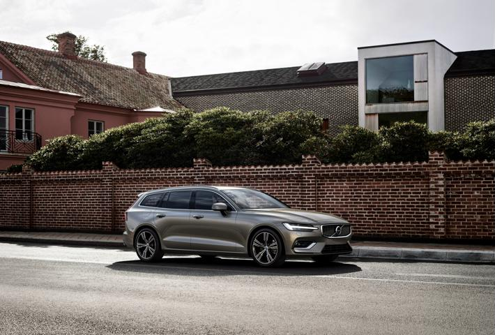 New Volvo V60 Estate front profile