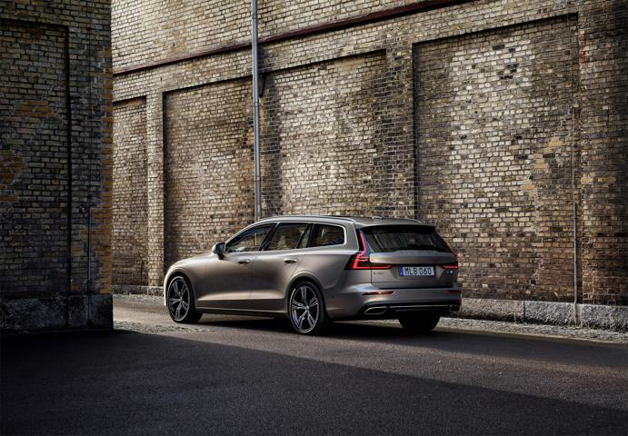 New Volvo V60 Estate rear