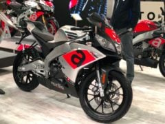 aprilia rs150 india images