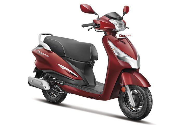 Hero Duet 125 CC i3S Scooter Debuts At Auto Expo 2018