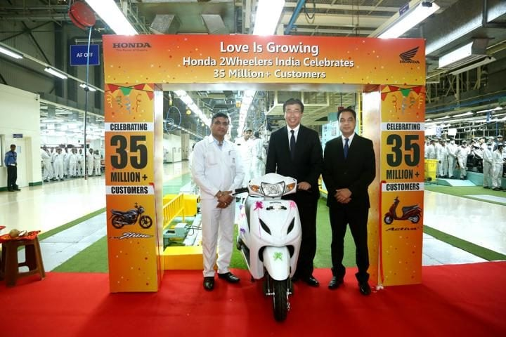 Honda two-wheeler