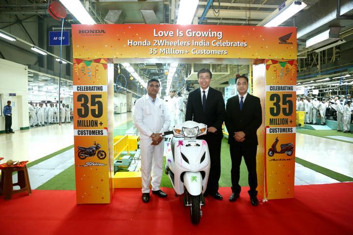 Honda two-wheeler