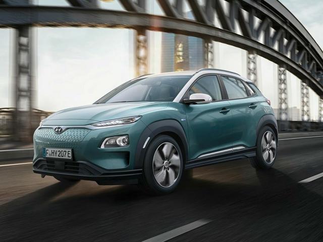 Hyundai Kona Electric Front Profile