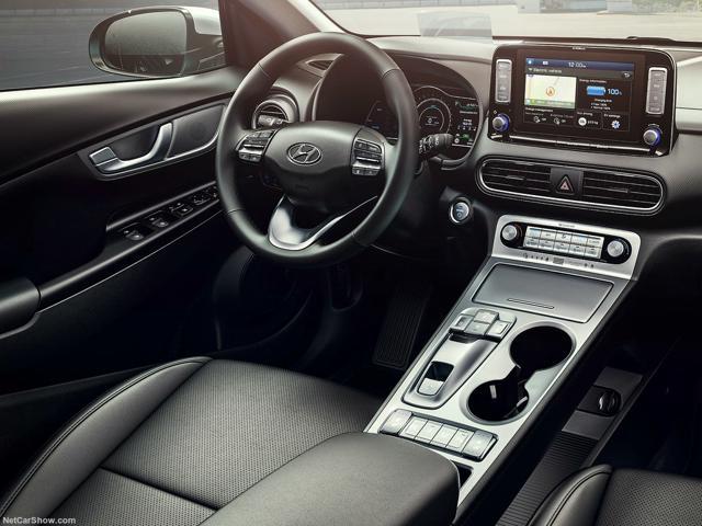 Hyundai Kona Electric Interior Profile