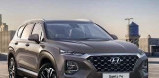 2019 Hyundai Santa Fe Front Profile