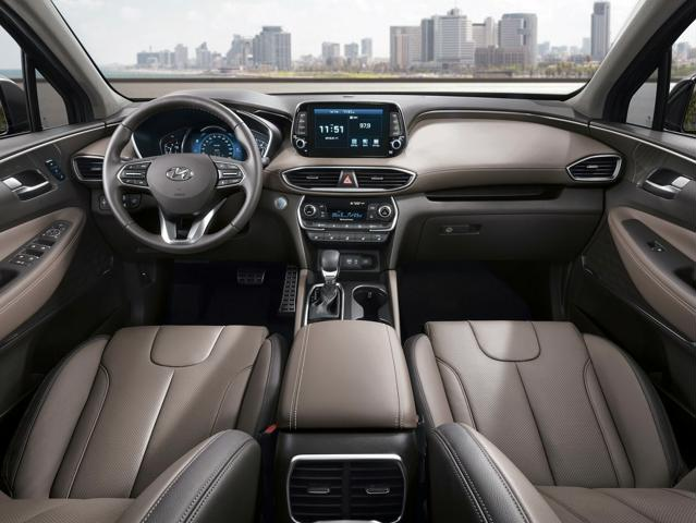2019 Hyundai Santa Fe Interiors