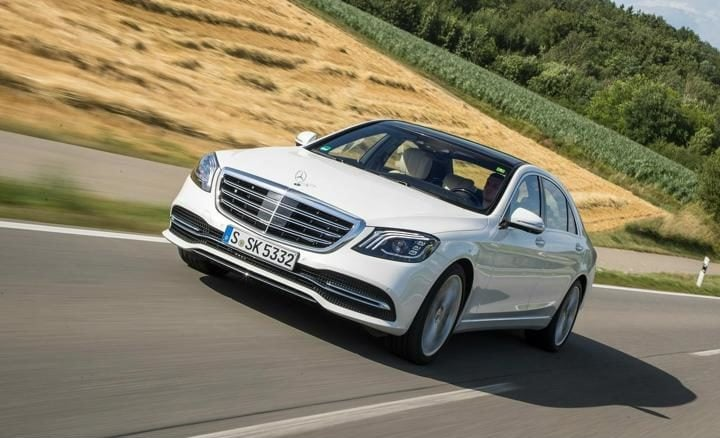 2018 Mercedes Benz S-Class Front Profile