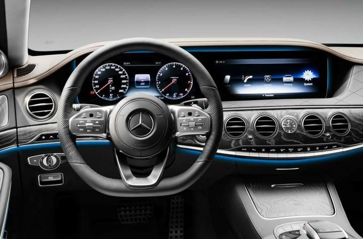 2018 Mercedes Benz S-Class Interior