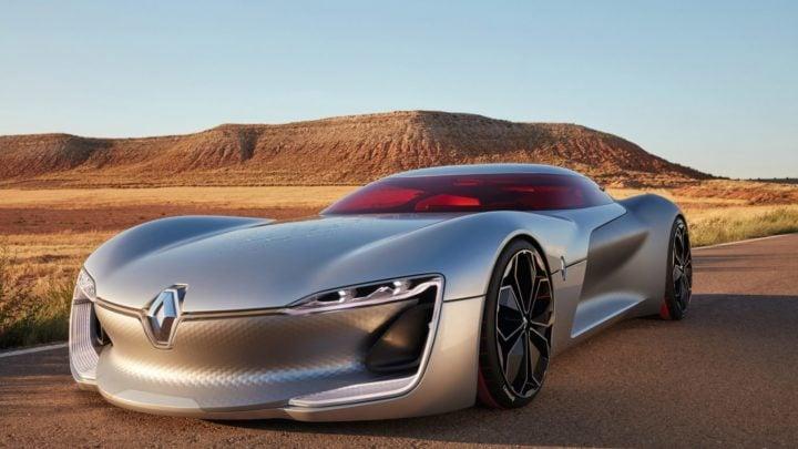 Renault Trezor concept EV