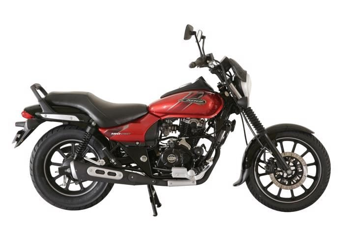2018 Bajaj Avenger Street 180 fiery red Best Cruiser Bikes