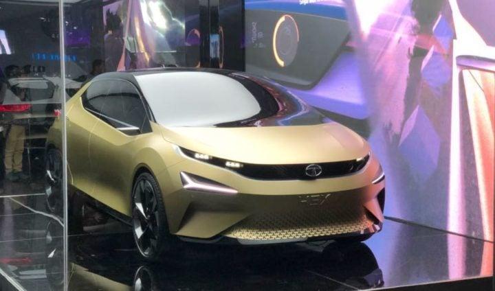 Tata 45X concept front profile