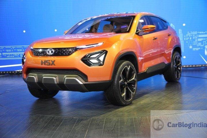 Tata H5X SUV concept front