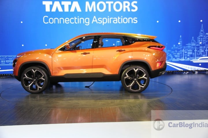Tata H5X Premium SUV Concept Revealed- Launch In 2018