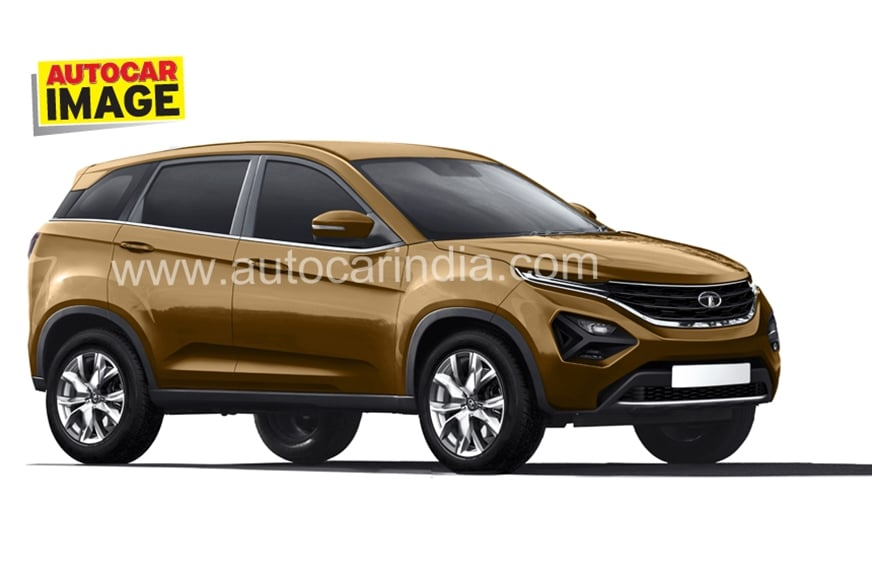 Tata Harrier (Q501) Spied with Production Body, Debut at ...