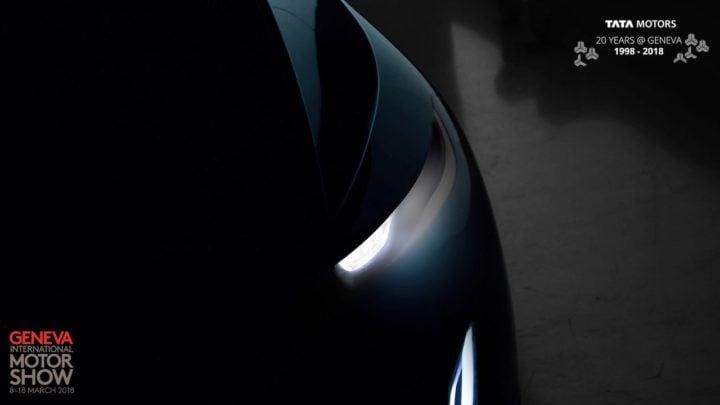 Tata Sedan Concept Teaser
