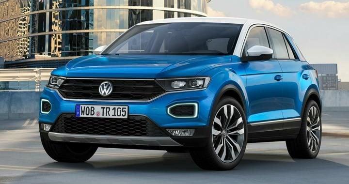 Volkswagen T-Roc SUV Front
