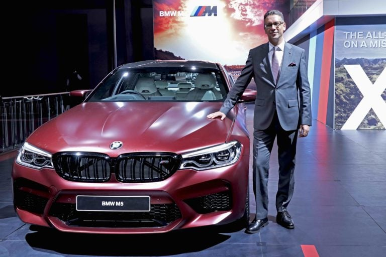 All New BMW M5 Launched in India at Auto Expo 2018, Price – Rs 1.44 Crore