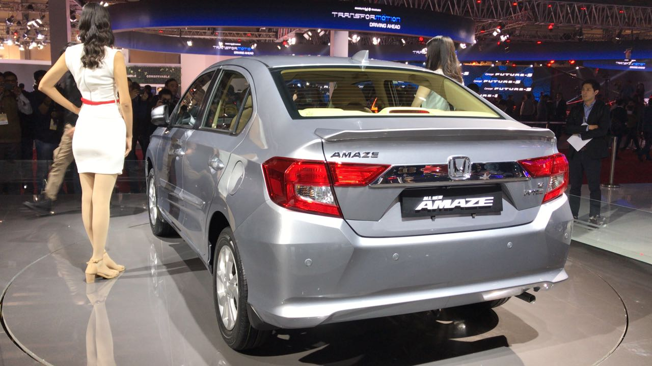 honda amaze  price mileage interior review specifications