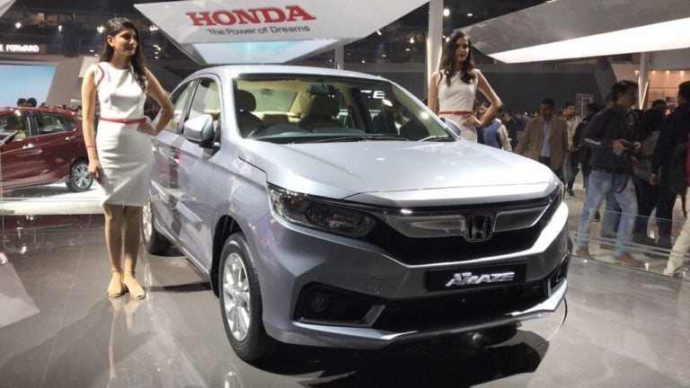 The New Honda Amaze To Come With A Diesel CVT; Bookings Open