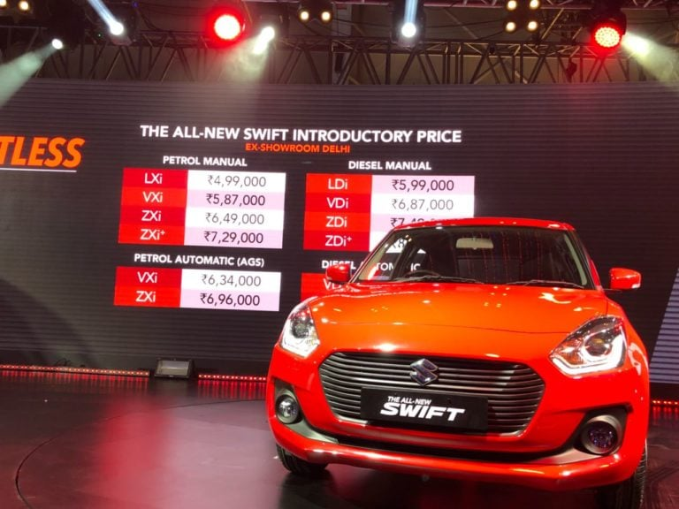 All New Maruti Suzuki Swift Launched, Starting Price – Rs 4.99 Lakh