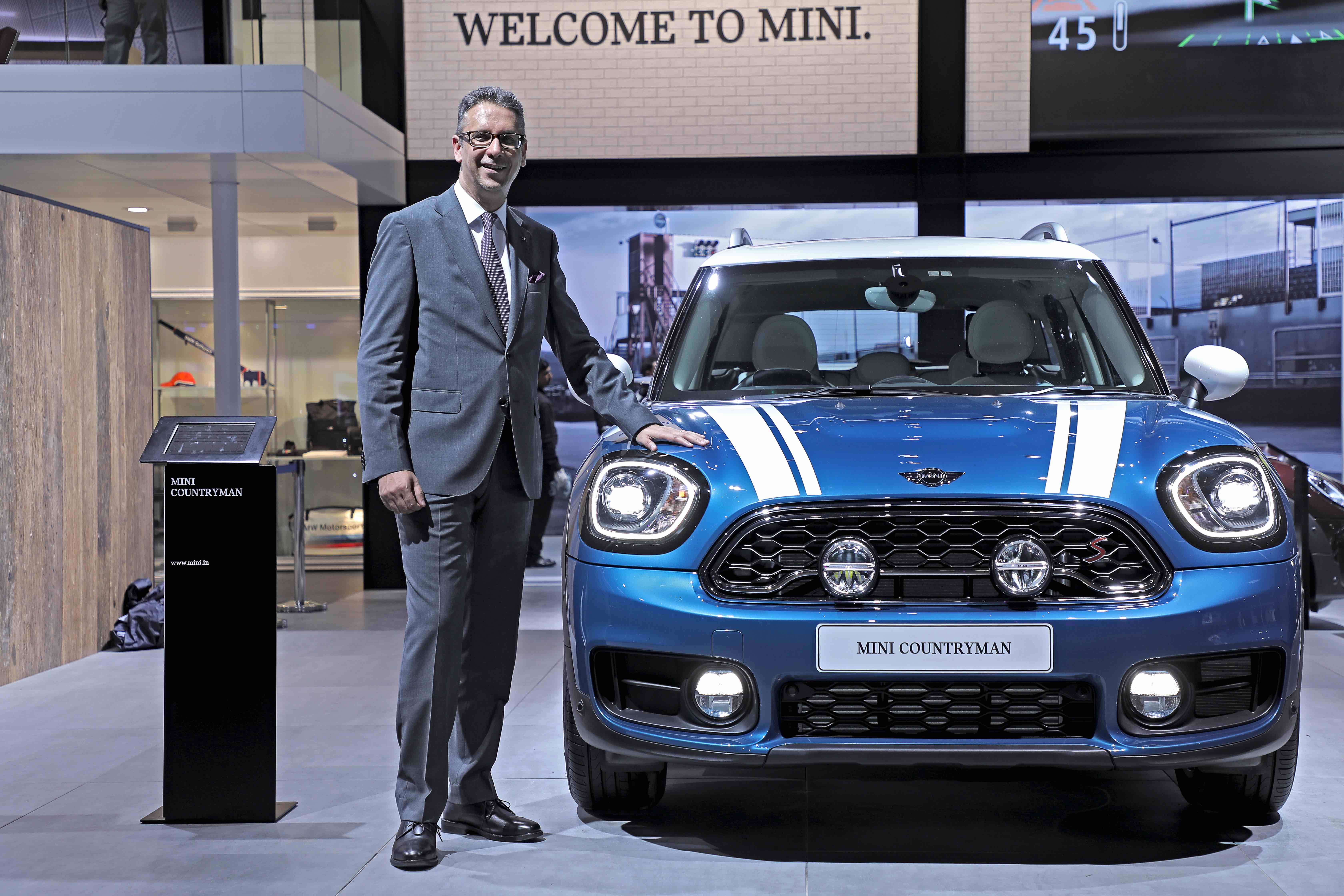 All New Mini Countryman Debuts In India At Auto Expo 2018 Launch Soon