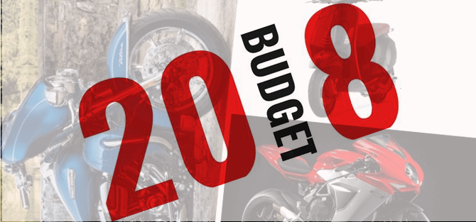 budget 2018 effects on bikes image