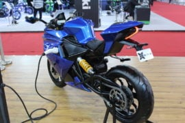 Emflux One Electric Superbike Images