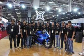 Emflux One Electric Superbike Images